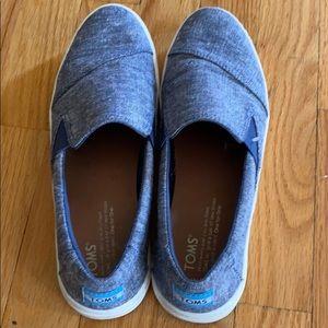 Toms Sneakers, Denim colored